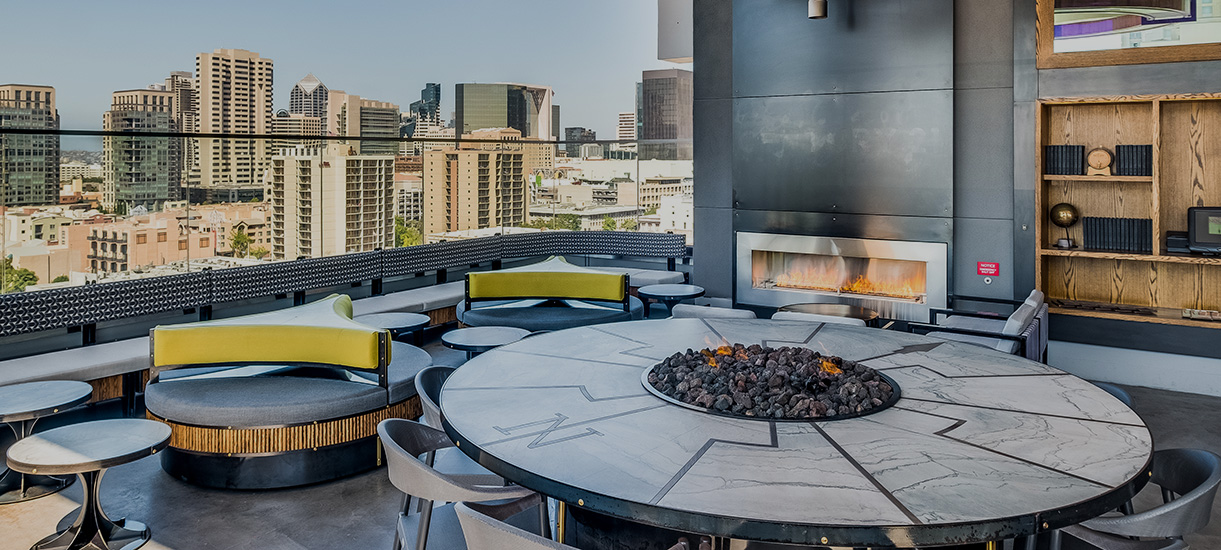 Private events at the Nolen Rooftop in San Diego
